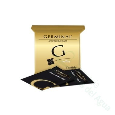 GERMINAL ACCION INMEDIATA TOALLITAS 1,5 ML 5 TOALLITAS