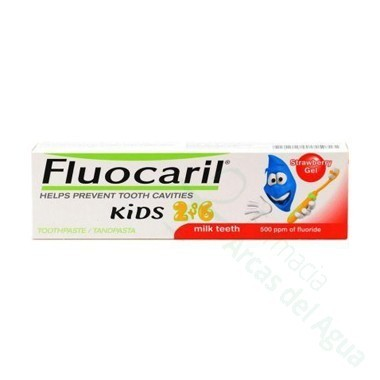 FLUOCARIL KIDS 2-6 AÑOS 50 ML FRESA