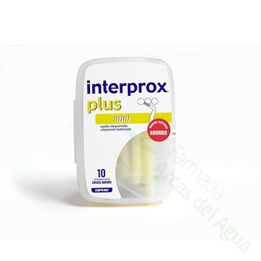 CEPILLO DENTAL INTERPROXIMAL INTERPROX PLUS MINI 6 U