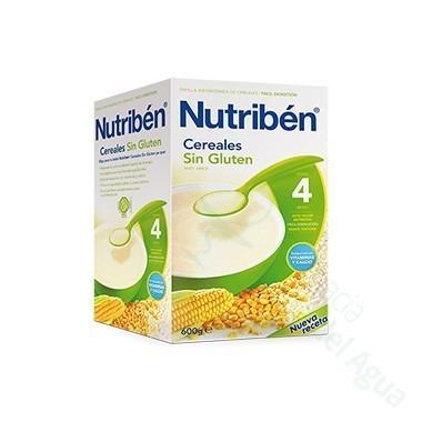 NUTRIBEN CEREALES SIN GLUTEN PAPILLA 600 G