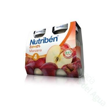 NUTRIBEN ZUMO MANZANA 130 ML 2 U BIPACK