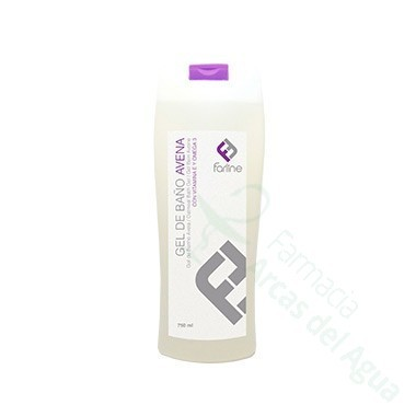 FARLINE GEL DE BAÑO DE AVENA 750 ML