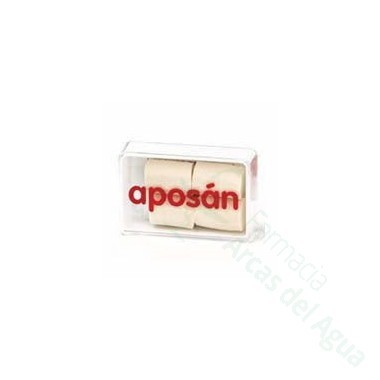 TAPONES OIDOS APOSAN ESPUMA 4 U