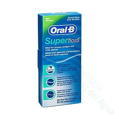 ORAL-B SUPERFLOSS SEDA DENTAL 50 U