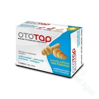 OTOTAP TAPONES OIDOS GOMA PREMOLDEADA GOMA 2 U