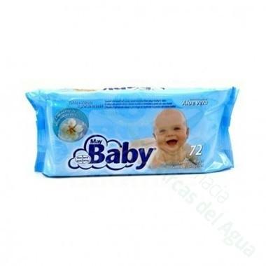 MAYBABY TOALLITAS INFANTILES 72 TOALLITAS