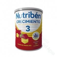 NUTRIBEN CRECIMIENTO PREPARADO LACTEO 900 G