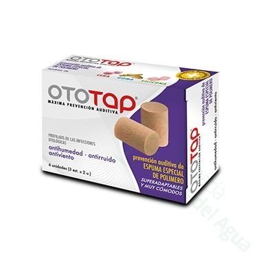 TAPONES OIDOS OTOTAP ESPUMA 6 U