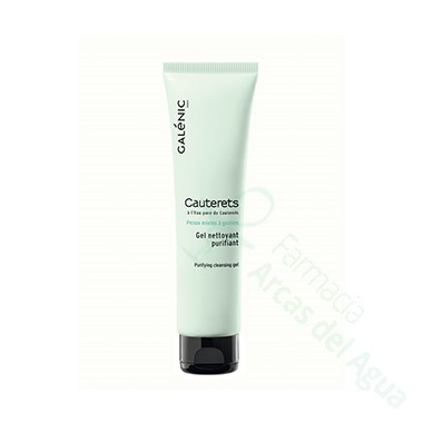 CAUTERETS GEL LIMPIADOR PURIFICANTE GALENIC 150 ML