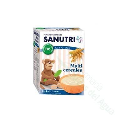 SANUTRI PAPILLA MULTICEREALES EFECTO BIFIDUS 600 G