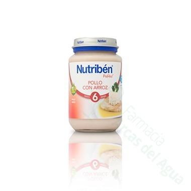 NUTRIBEN POLLO CON ARROZ POTITO JUNIOR 200 G
