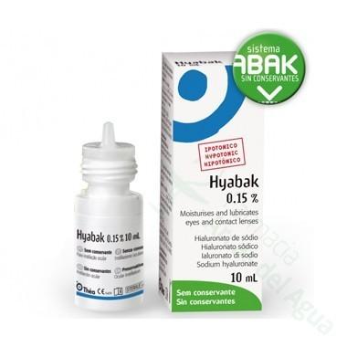 HYABAK SOLUCION HIDRATANTE LENTES DE CONTACTO 10 ML