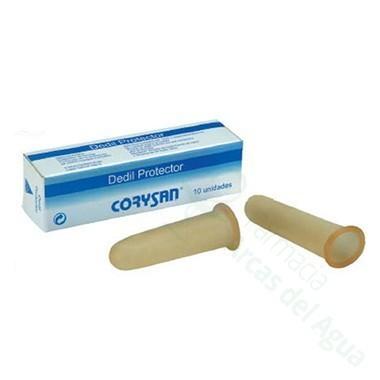 DEDIL CORYSAN LATEX DIAMETRO 18 CM T-4 10 U