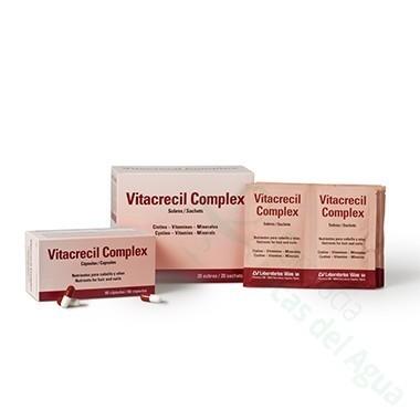 VITACRECIL COMPLEX CAPSULAS 90 CAPS