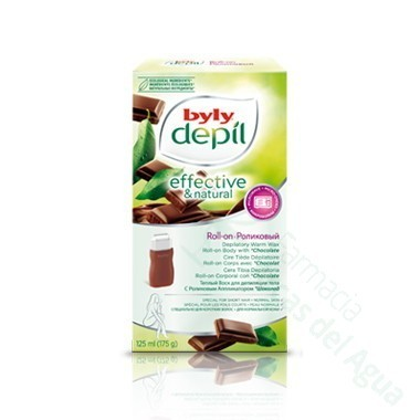 BYLY DEPILATORIO CERA TIBIA AL CHOCOLATE ROLL-ON 75 ML