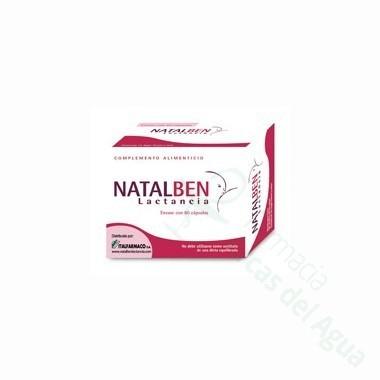 NATALBEN LACTANCIA 60 CAPS