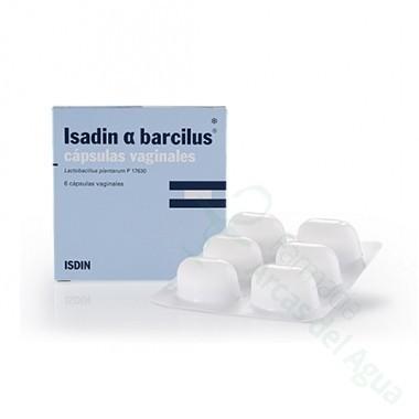 ISADIN ALFA BARCILUS CAPS VAGINALES 6 CAPS