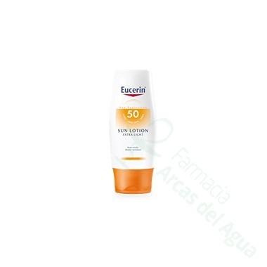 EUCERIN SUN PROTECTION 50 SUN LOTION E-LIGHT 150 ML