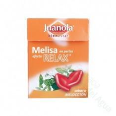JUANOLA PERLAS 25 G MELISA SABOR MELOCOTON