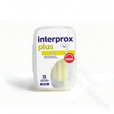 CEPILLO DENTAL INTERPROXIMAL INTERPROX PLUS MINI ENVASE AHORRO 10 U