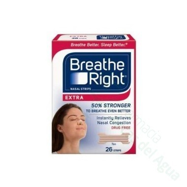 BREATHE RIGHT EXTRA TIRA NASAL 8 U