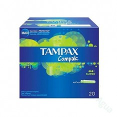 TAMPAX COMPAK SUPER 20 UDS