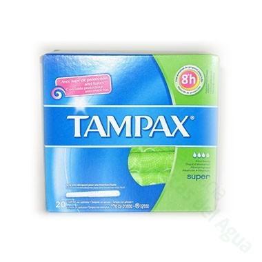 TAMPON TAMPAX SUPER 20 UN