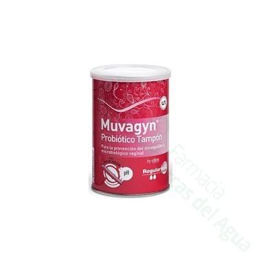 MUVAGYN PROBIOTICO TAMPON VAGINAL 12 U REGULAR