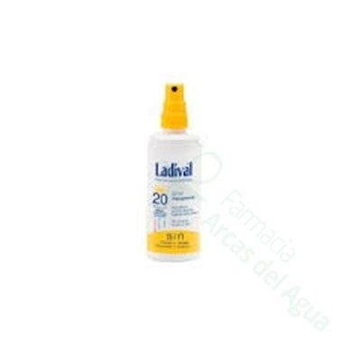 LADIVAL FOTOPROTECTOR FPS 20 MEDIA SPRAY TRANSPA 150 ML