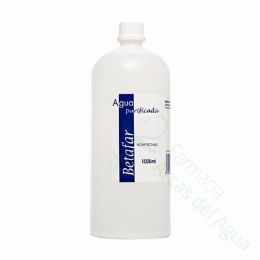 BETAFAR AGUA PURIFICADA1000 ML