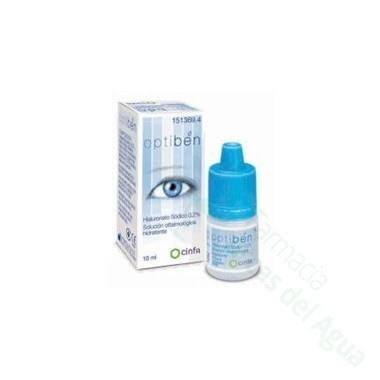 OPTIBEN GOTAS SEQUEDAD OCULAR 10 ML