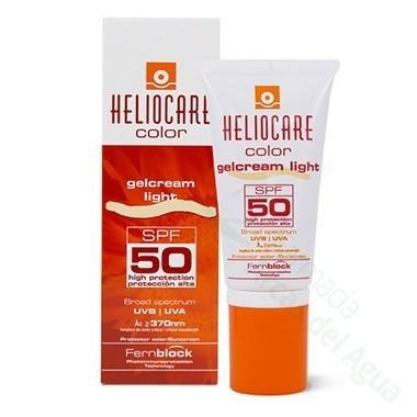 HELIOCARE GELCREMA COLOR LIGHT 50 ML