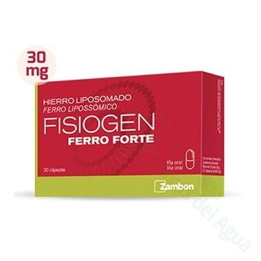 FISIOGEN HIERRO FORTE CAPS 30CAPS
