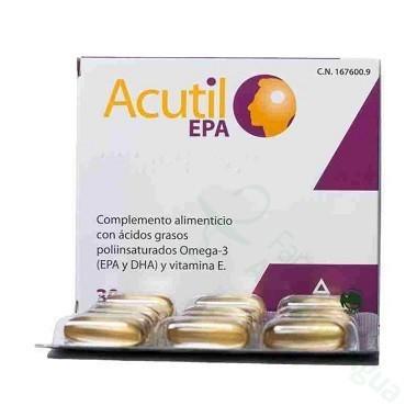 ACUTIL EPA 30 CAPS