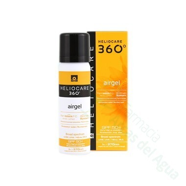 HELIOCARE 360º SPF 50+ FLUIDO AIRGEL PROTECTOR SOLAR / SUNSCREEN 60 ML