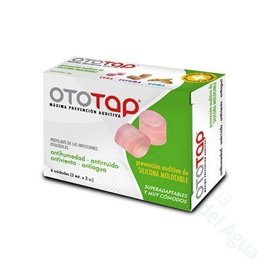 TAPONES OIDOS OTOTAP SILICONA 6 U