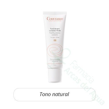 AVENE COUVRANCE MAQUILLAJE FLUIDO 30 ML NATURAL