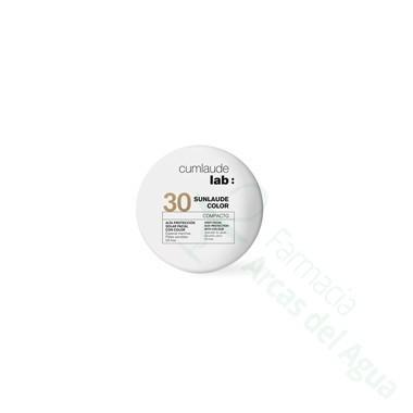 CUMLAUDE LAB: SUNLAUDE SPF 30 COMPACTO 10 G