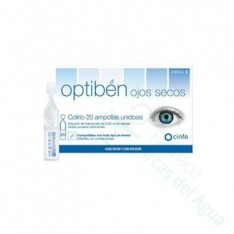 OPTIBEN GOTAS SEQUEDAD OCULAR 0.25 ML 20 AMP
