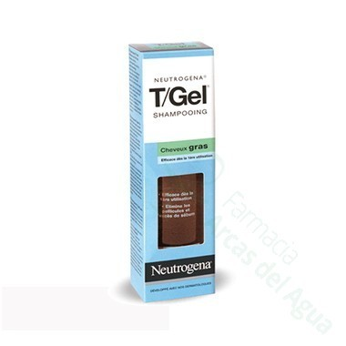 T-GEL CHAMPU ANTICASPA C NORMAL Y GRASO NEUTROGENA 250 ML