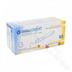TAMPONES 100%ALGODON FARMACONFORT REGULAR 16 U