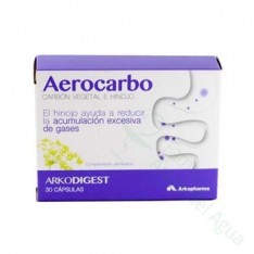 AEROCARBO ARKODIGEST 30 CAPSULAS