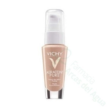 AERA TEINT PURE FONDO P NORMAL Y MIXTA MAQUILLAJE FLUIDO 30 ML CLAIR IVORY 23