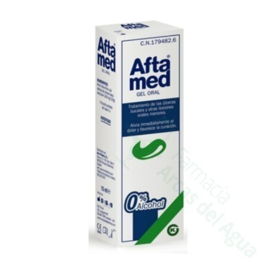 AFTAMED GEL ORAL 15 ML