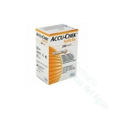 ACCU-CHEK SOFTCLIX LANCETAS 200 LANCETAS
