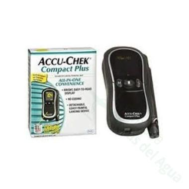 GLUCOMETRO KIT ACCU-CHEK COMPACT PLUS