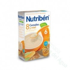 NUTRIBEN 8 CER M FRUTAS 300G