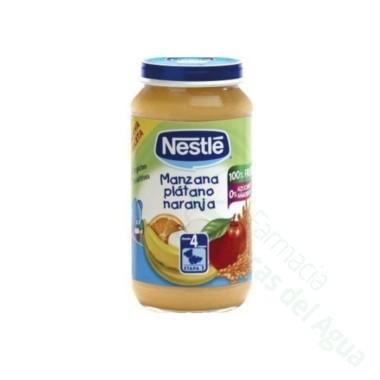 NESTLE PLATANO MANZANA NARANJA Y CEREALES 250 G