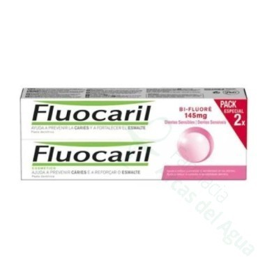 FLUOCARIL BI-FLUORE 250 DUPLO 75 ML 2 U