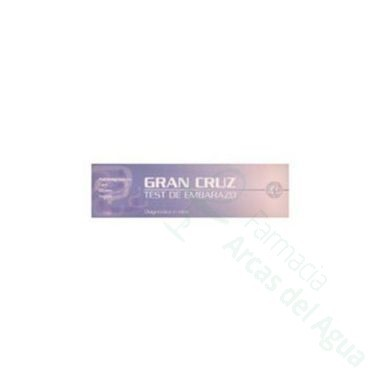 GRAN CRUZ TEST DE EMBARAZO